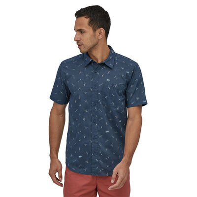 Patagonia Men's Go To Shirt - Stone Blue
