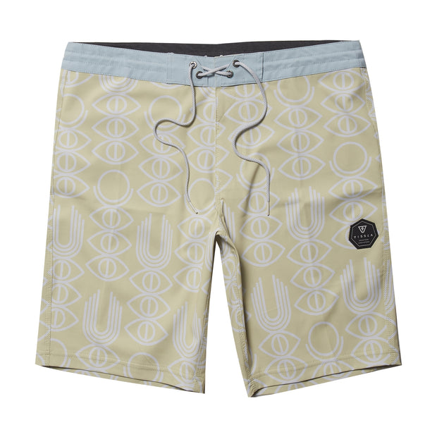 "Vissla Real Fun Eyes Boardshort - 20"" - Mellow Yellow"