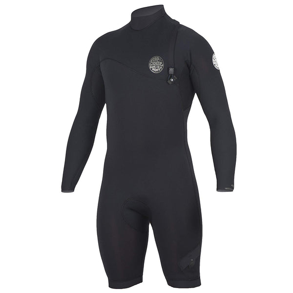 Rip Curl E Bomb Zip Free Long Sleeve 2/2 Spring Suit - Black