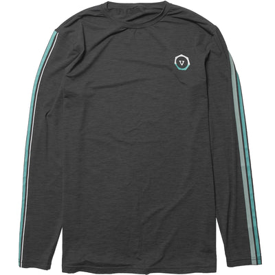 Vissla The Trip LS Surf Tee - Black Heather