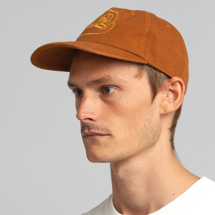 Rhythm So Pitted Cap - Sun Orange
