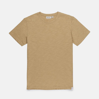 Rhythm Basic Slub T-Shirt - Sand