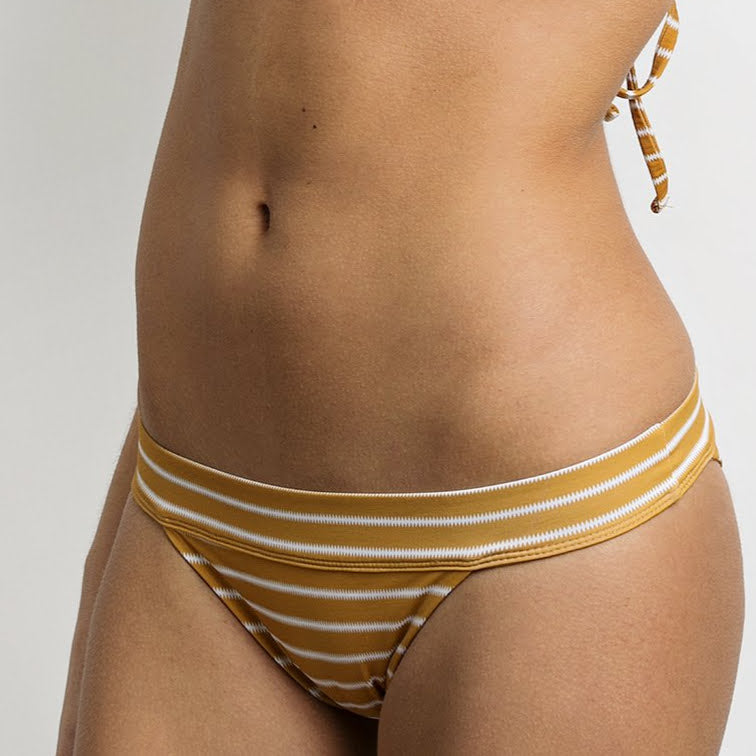 June Victoria Bikini Bottom - Sunflower