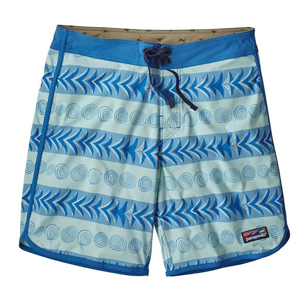 Patagonia Men's Scallop Hem Stretch Wavefarer® Boardshorts - 18