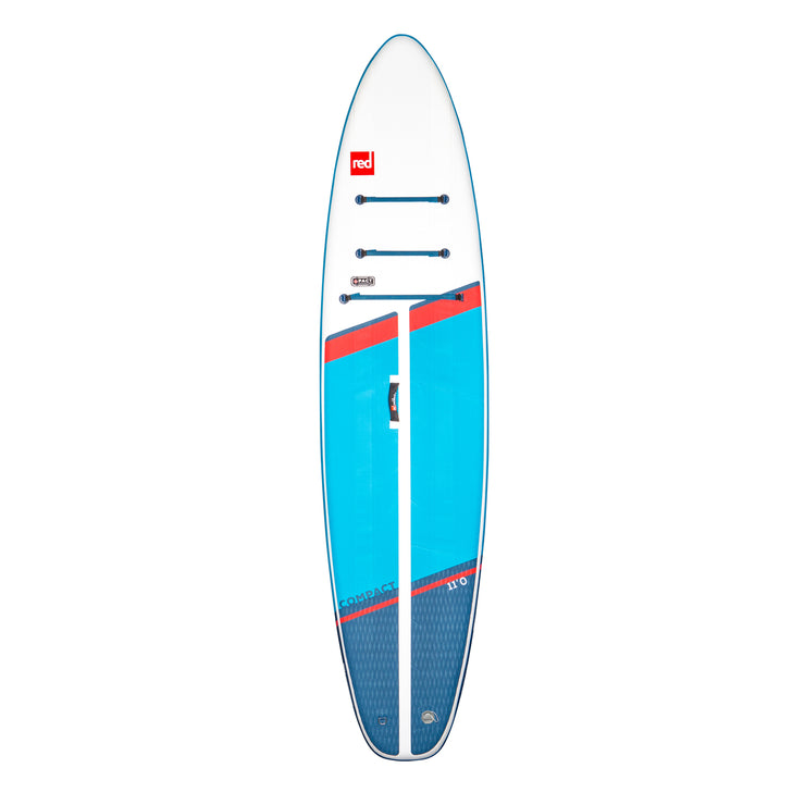 PRE-ORDER FOR MAY - Red Paddle Co. Compact 11'0 MSL Inflatable SUP - 2021
