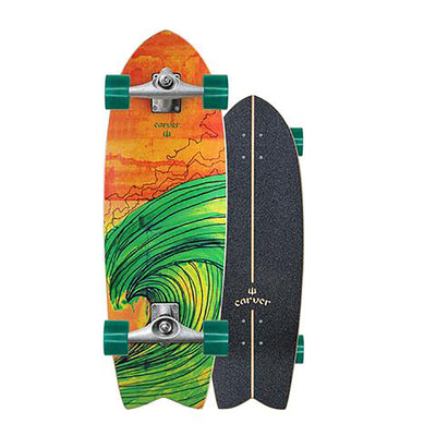 "Carver 29.5"" Swallow Surfskate CX Truck Rental"