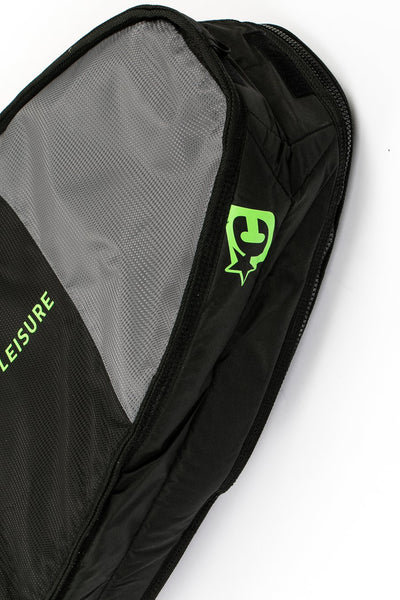 Creatures of Leisure Board Bag - Fish Double - Black Lime