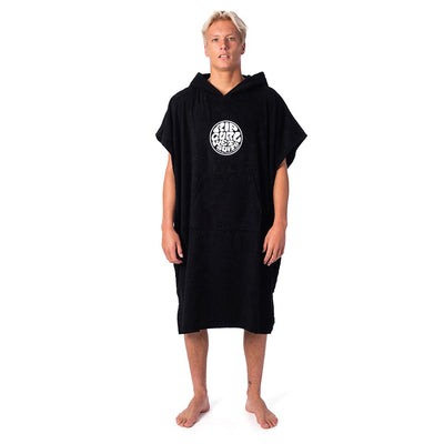 Rip Curl Wet As Hooded Towel - Black
