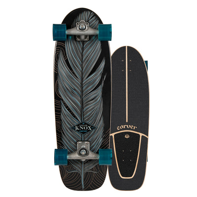 Carver CX Raw Knox Quill Surfskate - 31.25""