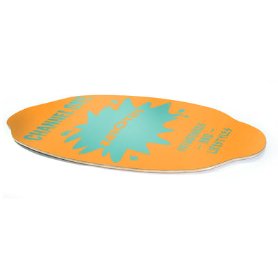 Kayotics Channel One Skimboard - Orange Blaze
