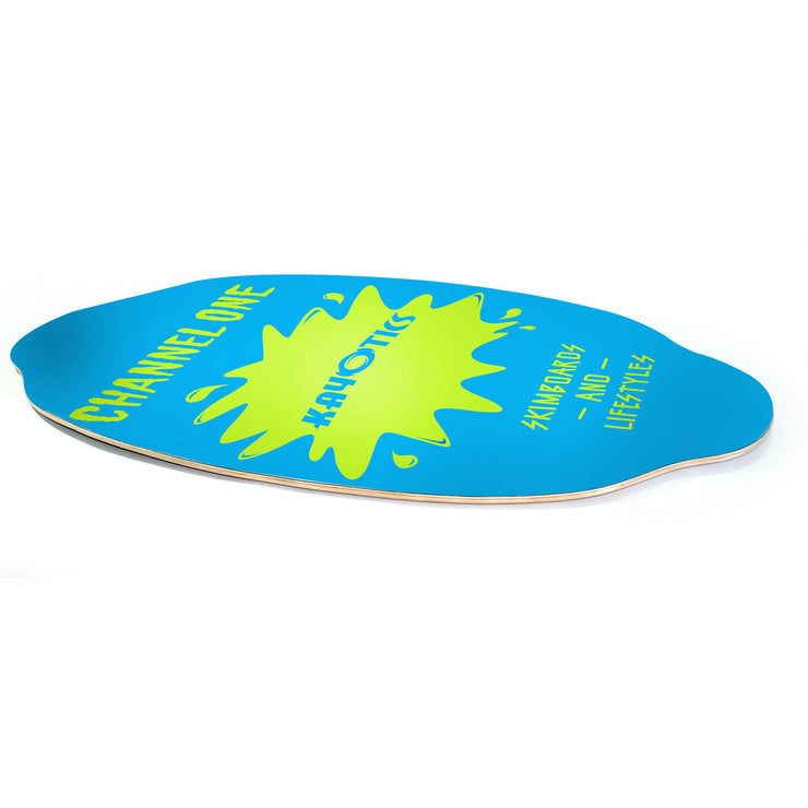 Kayotics Channel One Skimboard - Limelight