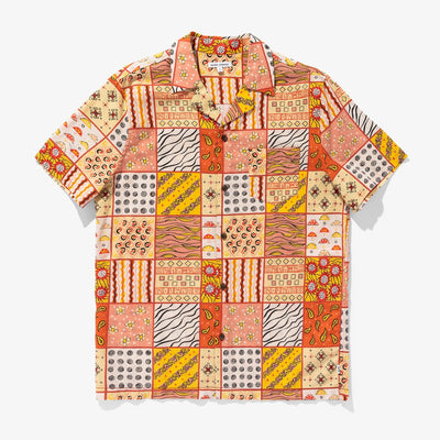 Banks Journal Crafted S/S Shirt - Baked Clay