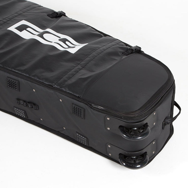 FCS Travel 2 Wheelie Longboard Board Bag 9'2