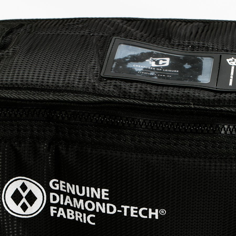 Creatures of Leisure Board Bag - Triple Fish - Black White