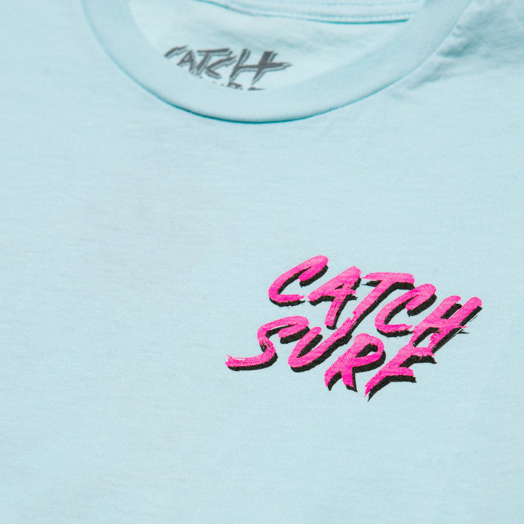 Catch Surf Youth Tiger S/S T-Shirt - Seafoam