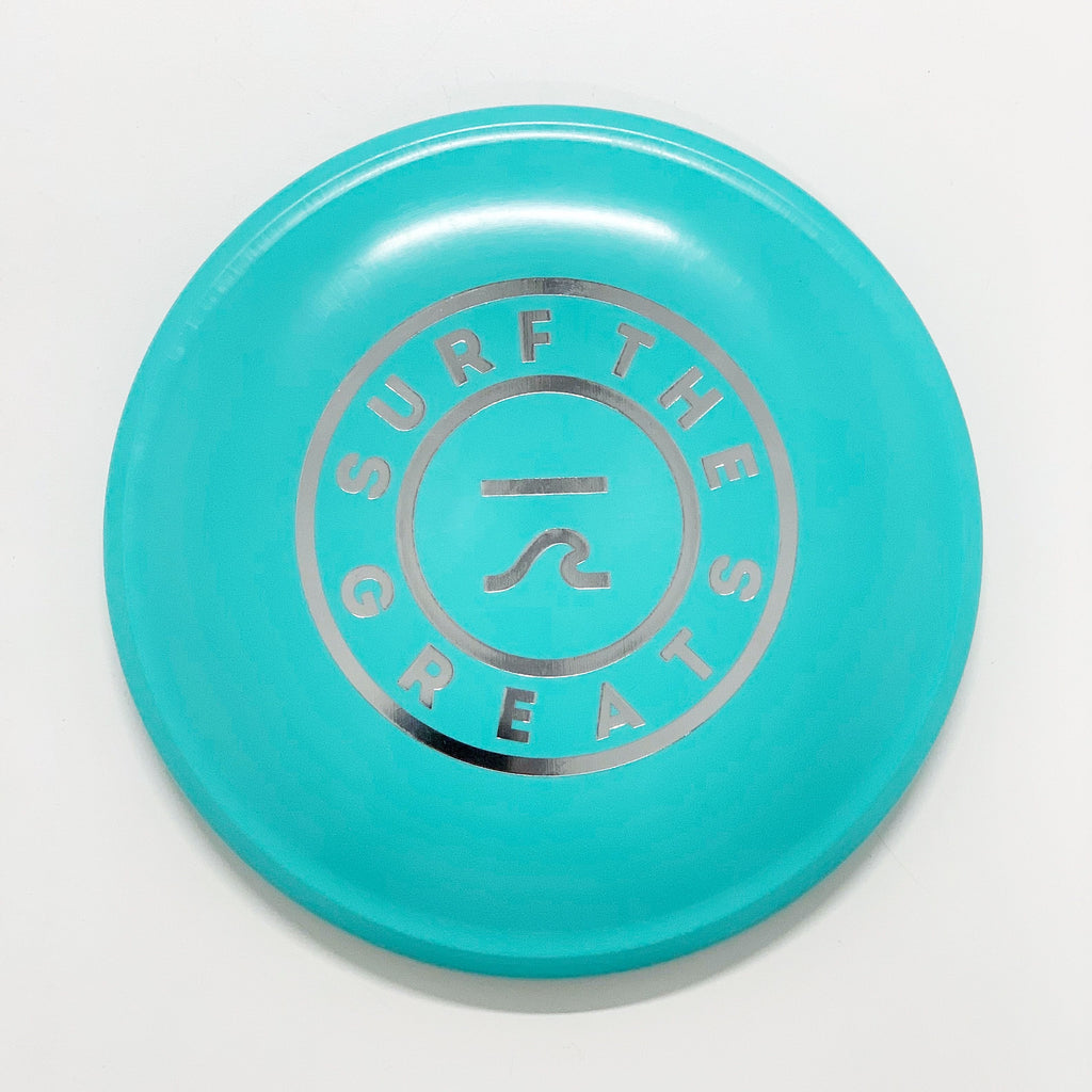 Surf the Greats Frisbee - Variety of Colours