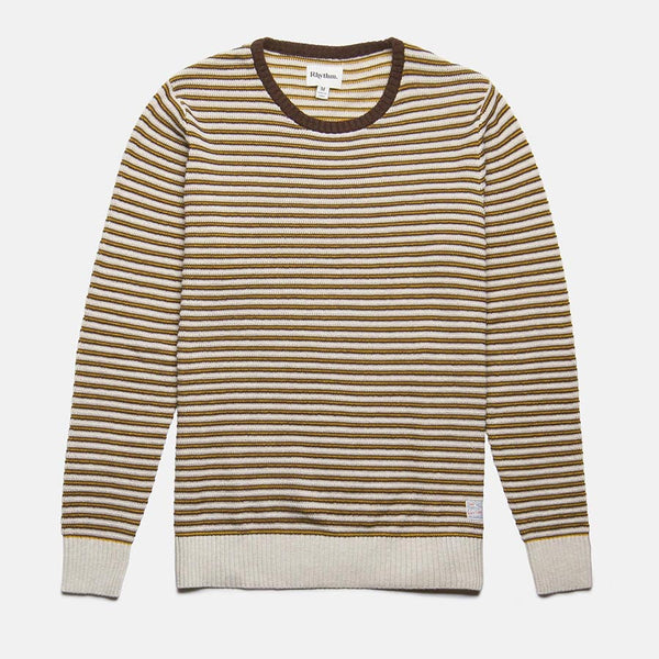 Rhythm Vintage Stripe Knit - Java