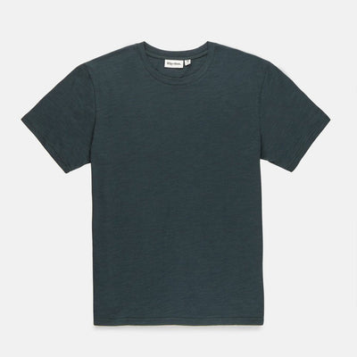 Rhythm Basic Slub T-Shirt - Teal