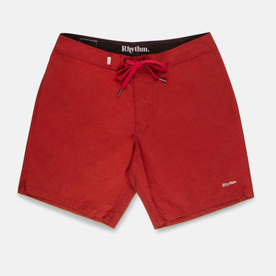 Rhythm Staple Surf Trunk - Red