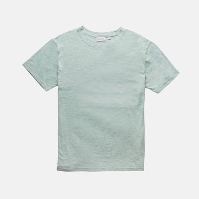 Rhythm Essential Slub T-Shirt - Mineral Blue