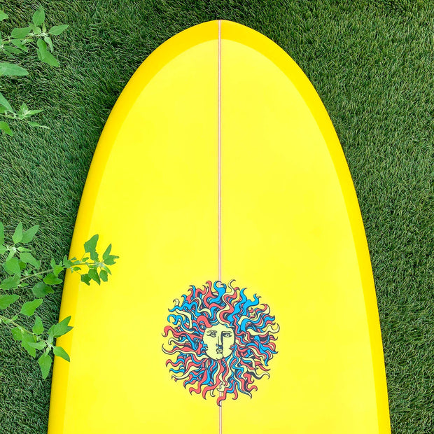 Kona 7'2 Bella - Yellow/Blue