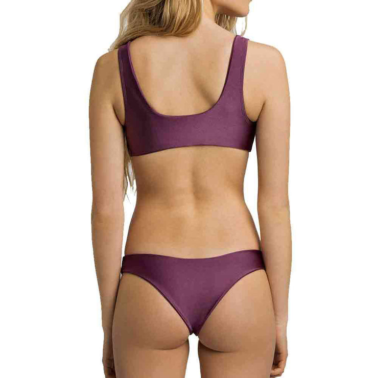June Lola Bikini Bottom - Raisin