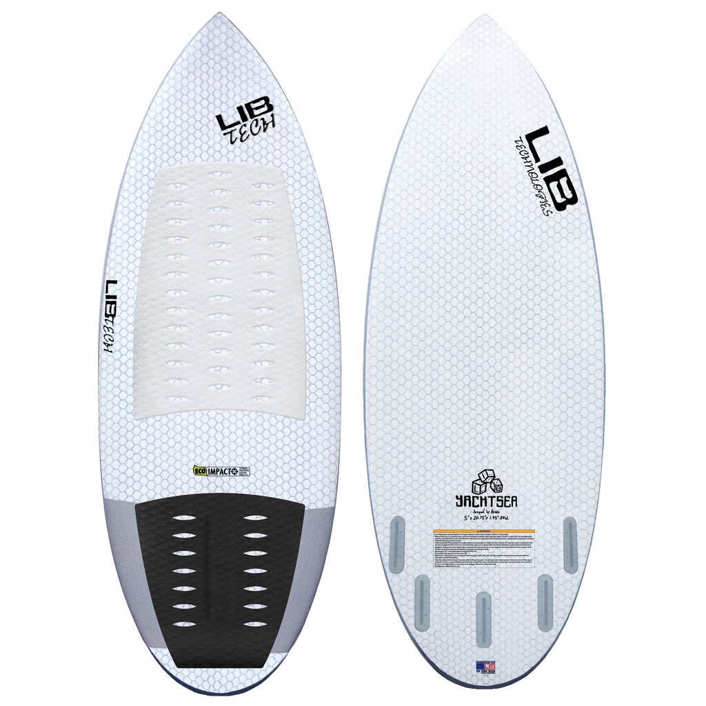 Lib Tech 5'0 Yacht Sea Wakesurf Premium Rental
