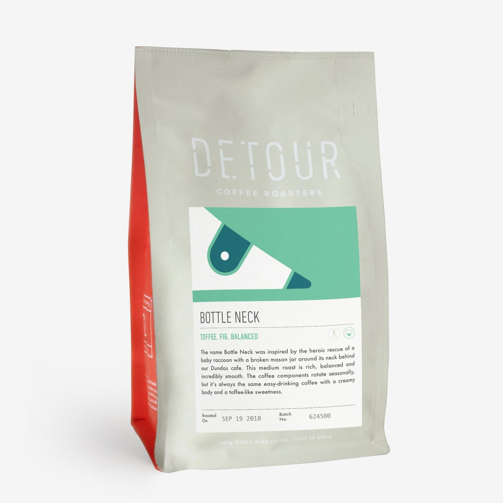 Detour Coffee Roasters Whole Beans - Bottle Neck - Medium Roast