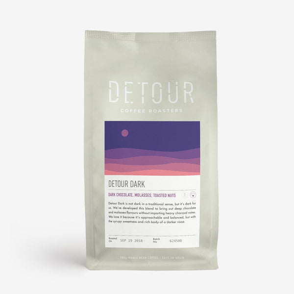 Detour Coffee Roasters Whole Beans - Detour Dark Roast