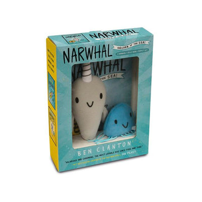 Narwhal and Jelly Book and Puppet Set