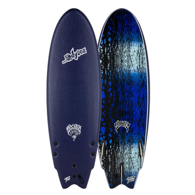 "Catch Surf Odysea X Lost Round Nose Fish (RNF) 5'5"" - Midnight Blue"