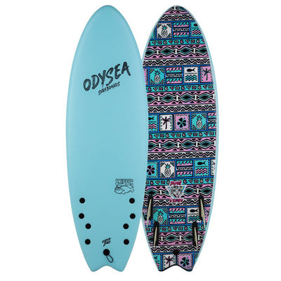 PRE-ORDER FOR OCTOBER - Catch Surf 6'0 JOB PRO Quad - Sky Blue