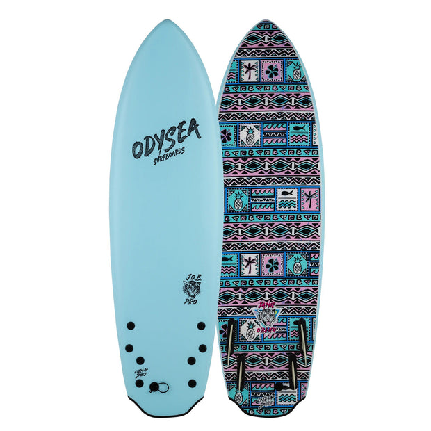 PRE-ORDER FOR OCTOBER - Catch Surf 5'8 JOB PRO Quad - Sky Blue