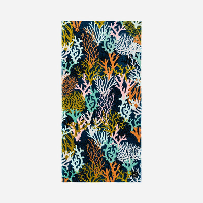 Slowtide Beach Towel - Rainbow Reef