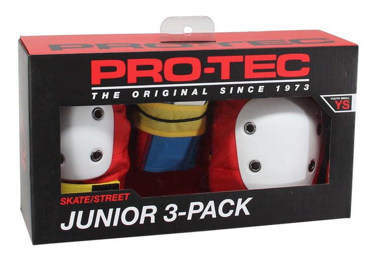 Pro-Tec Pads - Junior 3-Pack - Youth Small