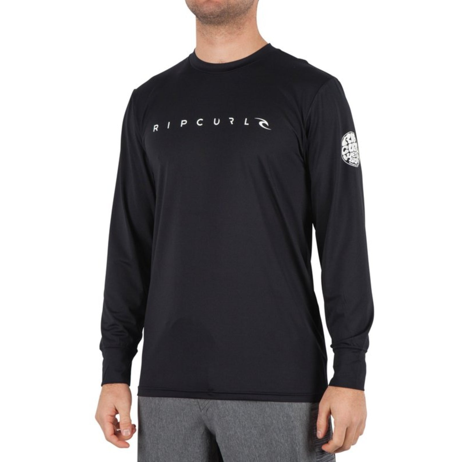 Rip Curl Dawn Patrol L/S UV Shirt - Black
