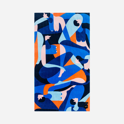 Slowtide Beach Towel - Crux