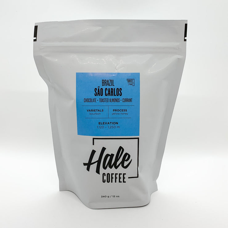 Hale Coffee Roasters Whole Beans - Brazil São Carlos