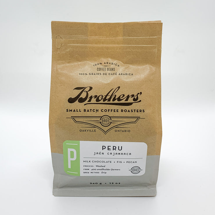 Brothers' Coffee Roasters Whole Bean - Peru