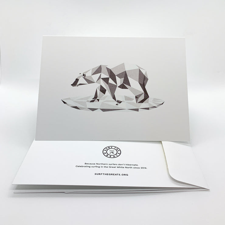 STG Greeting Card - Great White North