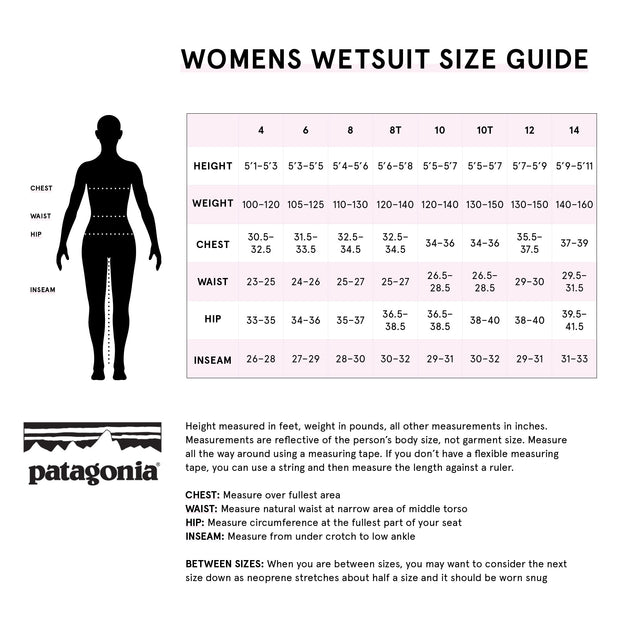 Patagonia Womens R1 Lite Yulex L/S Neoprene Top - 1.5mm