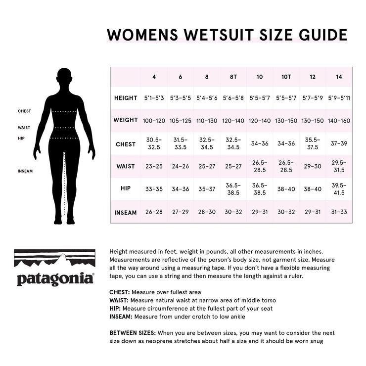 PRE-ORDER FOR DECEMBER 15 - Patagonia Women's R4® Yulex® Front-Zip Hooded Full Suit