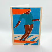 Tasiania Greeting Card - Sunset Fun