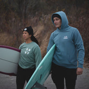 STG Great White North Hoodie - Slate Blue
