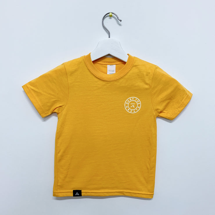 STG Classic Logo Youth Tee Yellow