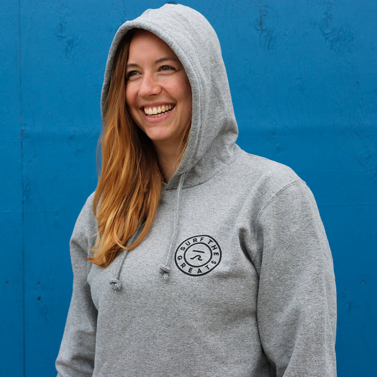 STG Hooded Sweatshirt - Athletic Grey