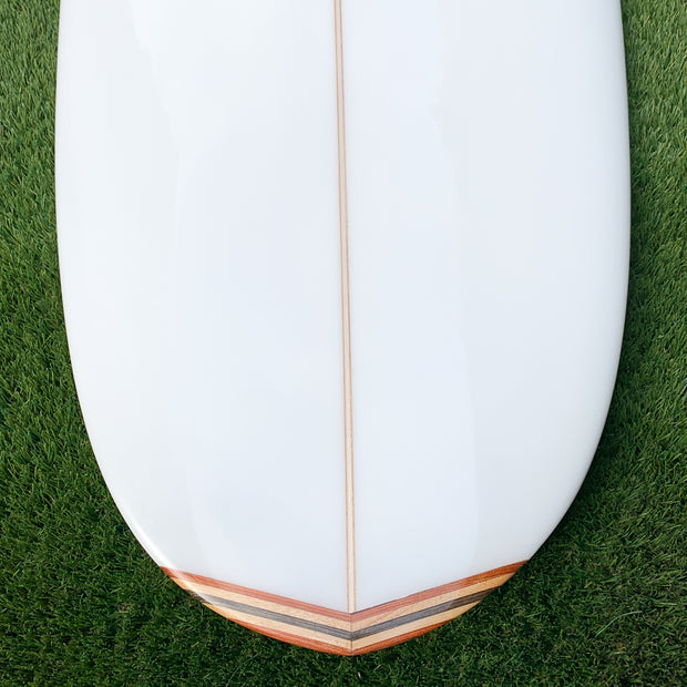 Kona 9'0 Cruiser - White with Nose/Tail Blocks