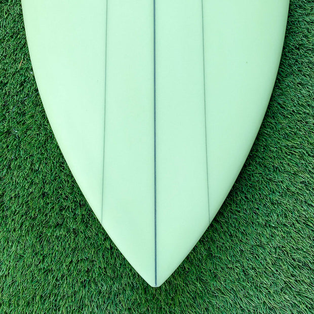 Wax Surf Co. 6'0 Quad Fish