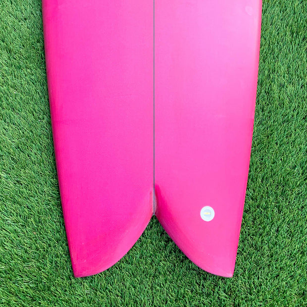Wax Surf Co. 5'7 Quad Fish