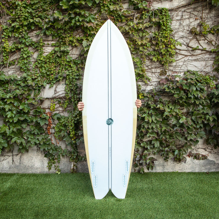 Wax Surf Co. 5'11 Quad Fish